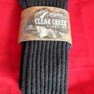 1 Pair Large Clear Creek Triple Cushion Nonbinding Top Cotton Sock 10-13 USA