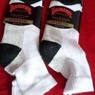 2 Pair Mens Railroad Hydrotec Quarter Arch Support Cushioned Foot Sock 10-13