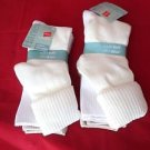 6 PairHanes Super Soft Casuals Stretch Cuff Socks Great Quality 5-9