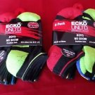 12 Pair Ecko Unlimited Boys No Show Boat Socks Soft  Durable Black Heel 9-2 1/2