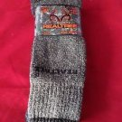 2 Pair Large Real Tree Cotton Hiker Work Boot Socks 9-13 Arch Support Made USA