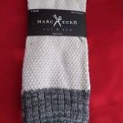 1 Pair Large Marc Ecko Cut & Sew Cotton Crew Socks 6-12 White