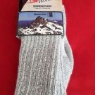 1 Pair  Large High Rock Merino Wool Expedition Socks 10-13  Made in USA