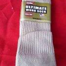 1 Pair Large Carolina Ultimate Cotton OTC Work Boot Sock 10-13 USA 1st Quality