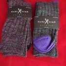 2 Pair Large Marc Ecko Cut & Sew Cotton Crew Socks 6-12 Toe Heel