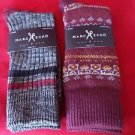 2  Pair Large Marc Ecko Cut & Sew Cotton Crew Socks 6-12
