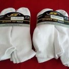 12 Pair  Large JCP Cotton Quarter Sport Socks Control Odor 6 1/2-12 Made in USA
