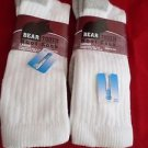 2 Pair Large Bear tooth Coolmax Crew Durable Boot Socks 9-12 Arch Support USA