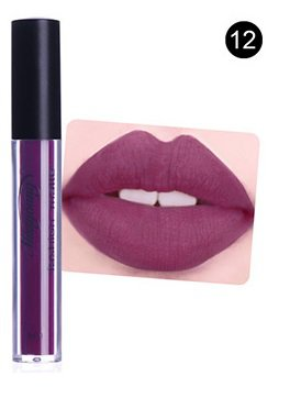 Hot Authentic #12 Velvet Liquid Matte Lipstick by Miss Young (R) Cosmetics FREE SHIPPING 40% OFF