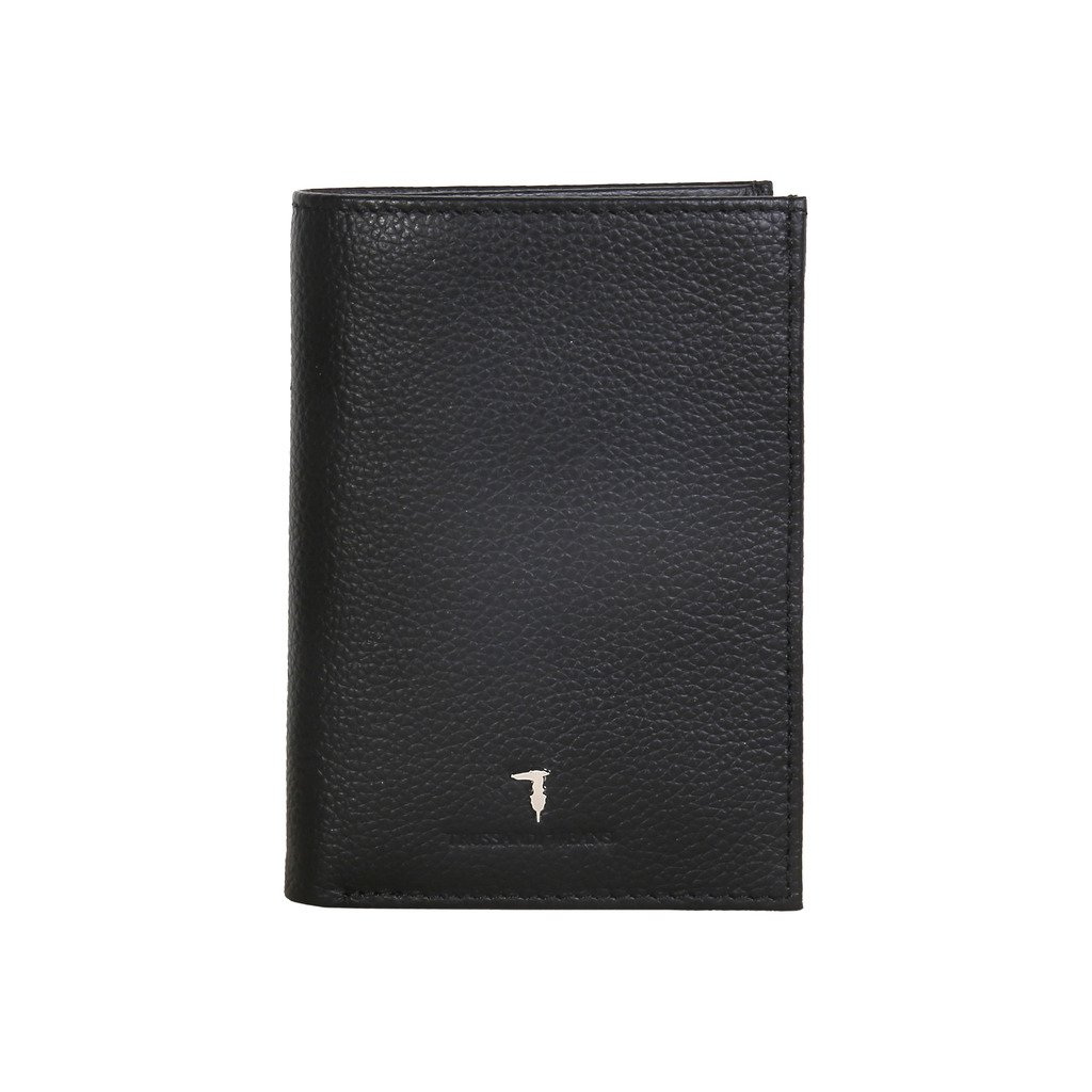 Trussardi Jeans 71P020J6XX Men's Vertical Wallet, Black