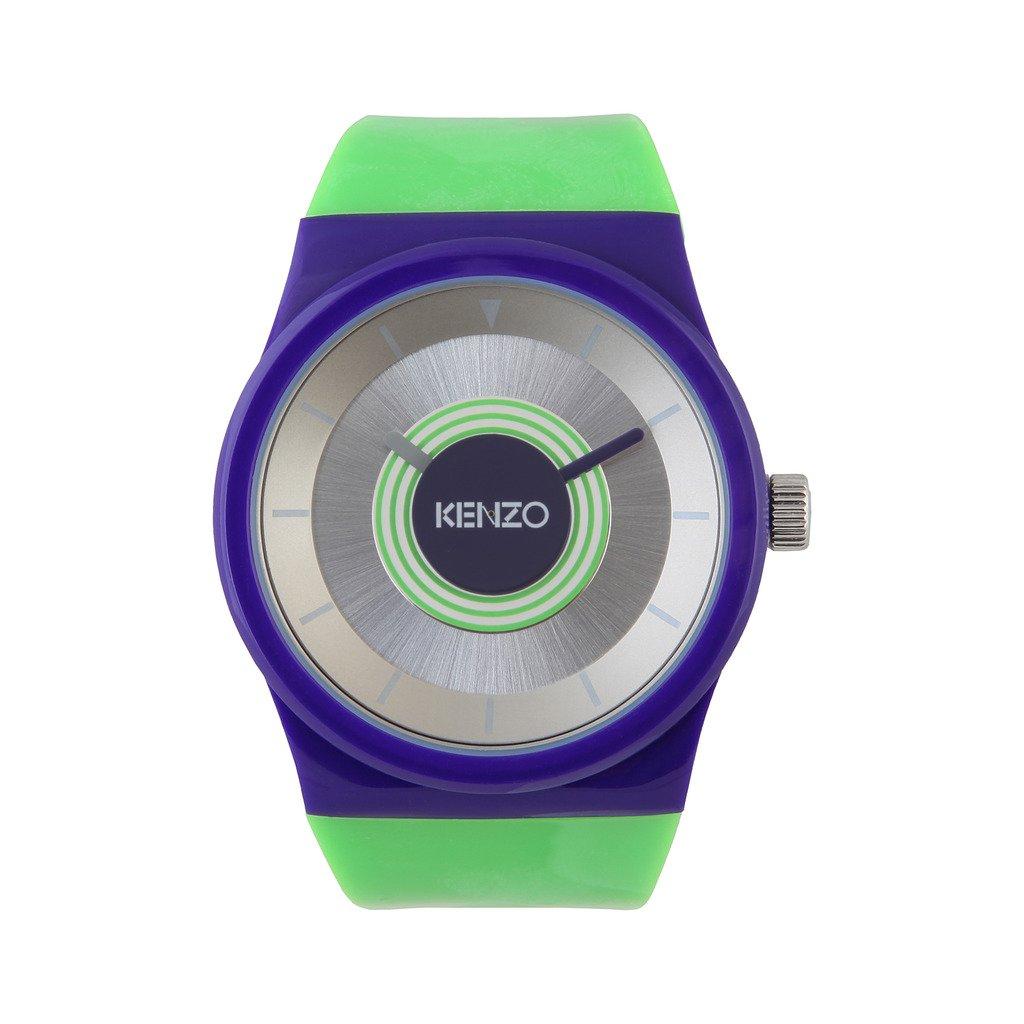 Kenzo K0034-001 Men's Watch, Purple & Green