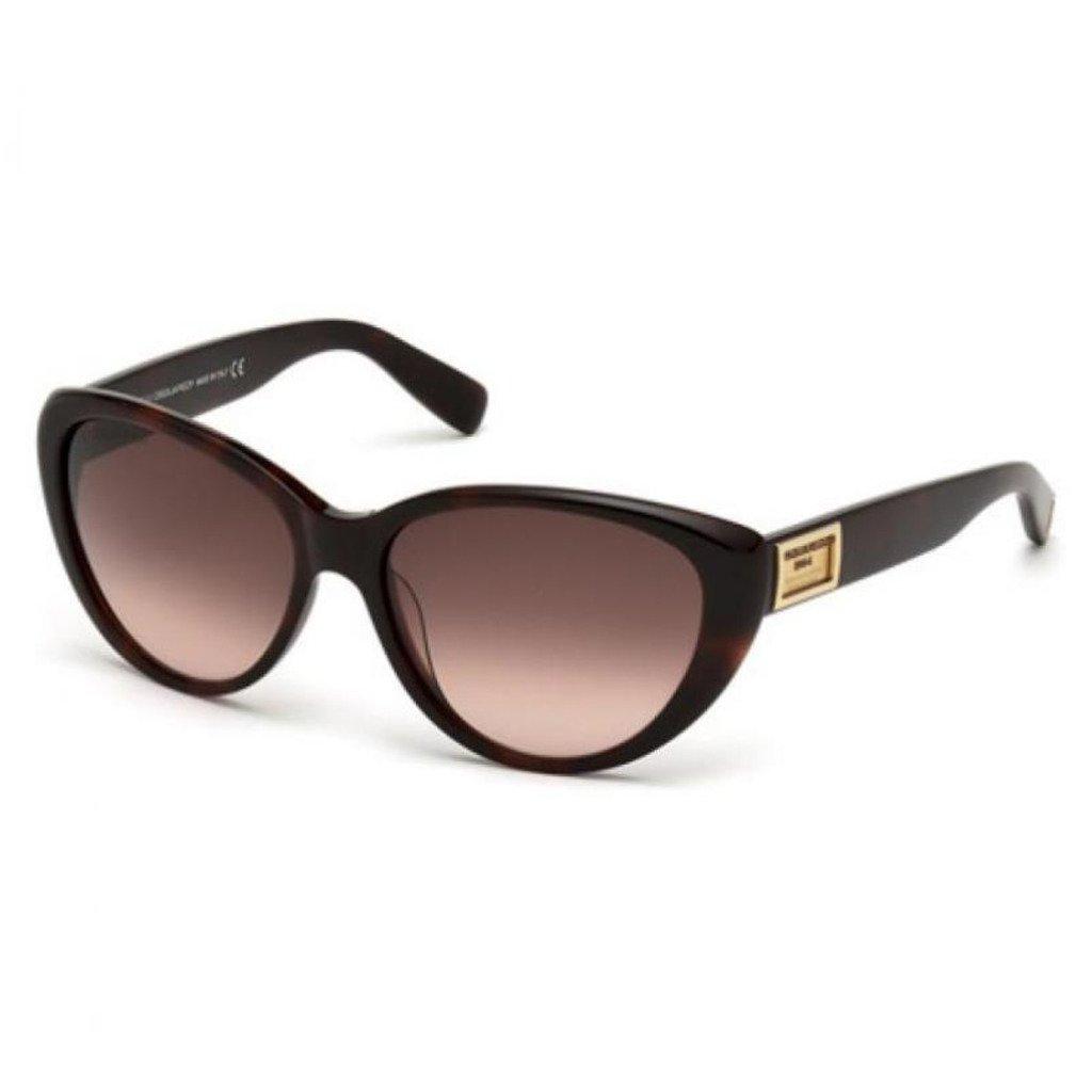 Dsquared DQ0145S-52F Women's Sunglasses, Brown