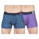 CR7 Cristiano Ronaldo 8502-49-408 Men's 2-Pack Trunk, Small