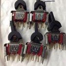5 Pieces New C&K Switches ON-ON SPDT Round Actutator 7101 Solder Lugs