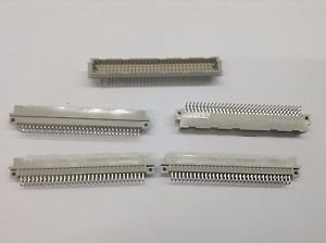 Lot of 5 PANCON ITW 100-096-424 Connector, NEW no Box