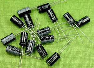 10 Pieces 35v 100uf Electrolytic Capacitor 6x12mm