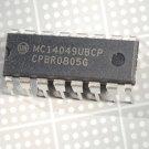 MOTOROLA MC14049UBCP 16-Pin Dip Integrated Circuit New Lot Quantity-5
