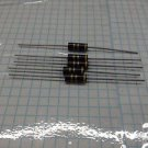 5pc- 1 watt 5% carbon film resistors - 4.7 ohm USA SELLER - Ships First Class