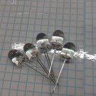 5pc - XLM2BG01W SUNLED CO LTD T-4 SINGLE COLOR LED, GREEN, 10mm LED