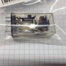 OMRON MY2N-CR 110/120VAC DPDT Relay With LED Indicator