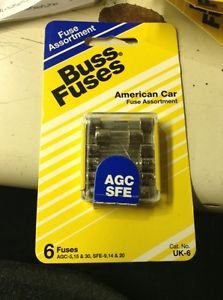 Buss Fuses American Car Fuse Assortment