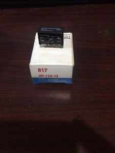 POTTER & BRUMFIELD HP11D12,  HP-11D-12 PC Relay 12VDC