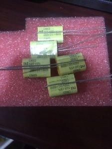 10 Qty. 80M NT 1uf 200V poly audio capacitors 200 volt polyester