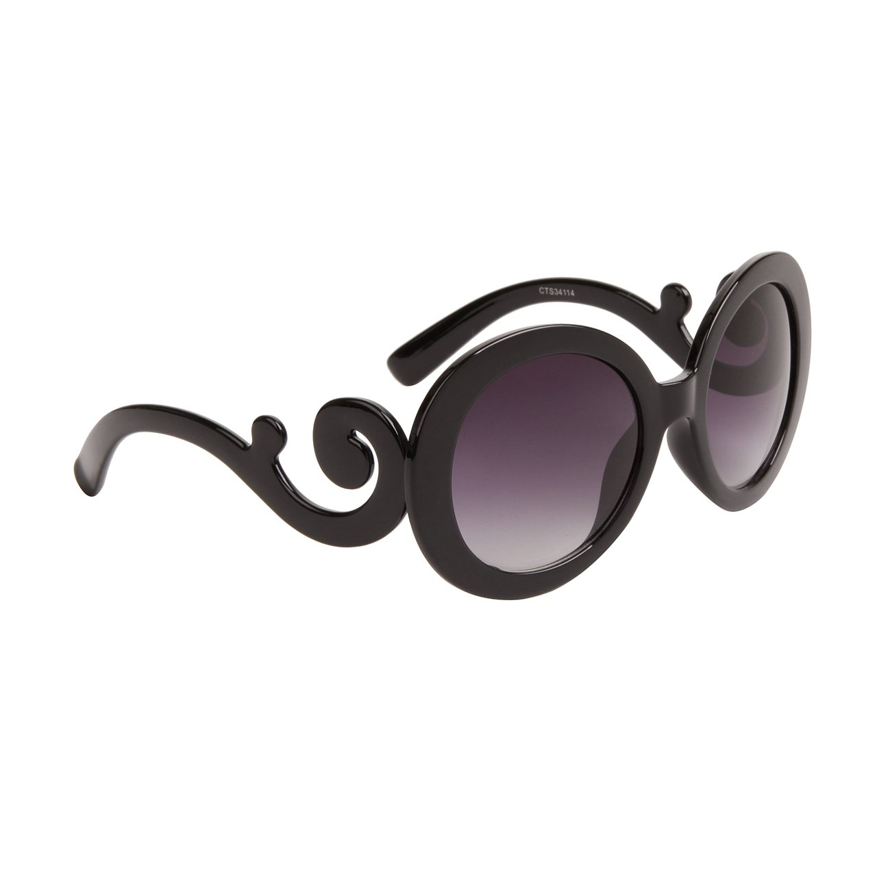 DESIGNER INSPIRED WOMEN'S SUNGLASSES BLACK FRAME TOP QUALITY UV PROTECTION