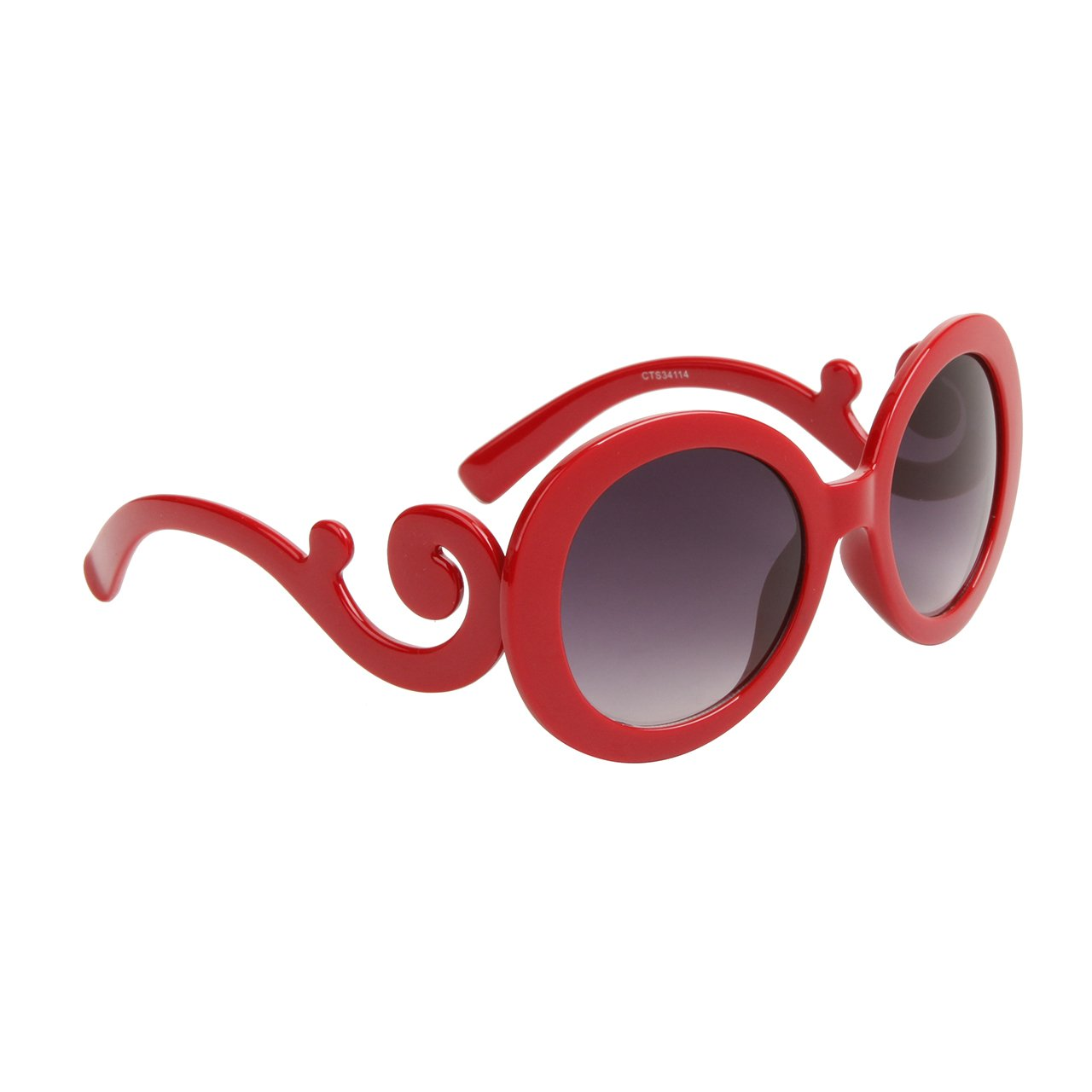 DESIGNER INSPIRED WOMEN'S SUNGLASSES RED FRAME TOP QUALITY UV PROTECTION