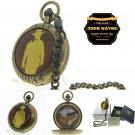 JOHN WAYNE The Duke Memorial Pocket Watch Men Gift Set Brass Chain Pouch Box C71