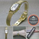 GOLD Women Quartz Wrist Watch Ladies Gift Stainless Steel Mesh Band New WL24