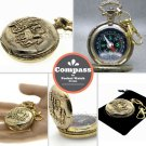 Pocket Watch Style Military Compass Liquid Outdoor Camping Hiking Key chain CP19