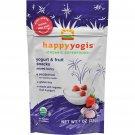 Happy Baby Happy Yogis Organic Superfoods Yogurt and Fruit Snacks, Mixed Berry - 1 oz - Case of 8