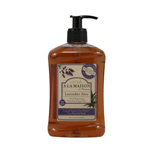 A La Maison French Liquid Soap Lavender Aloe - 16.9 fl oz