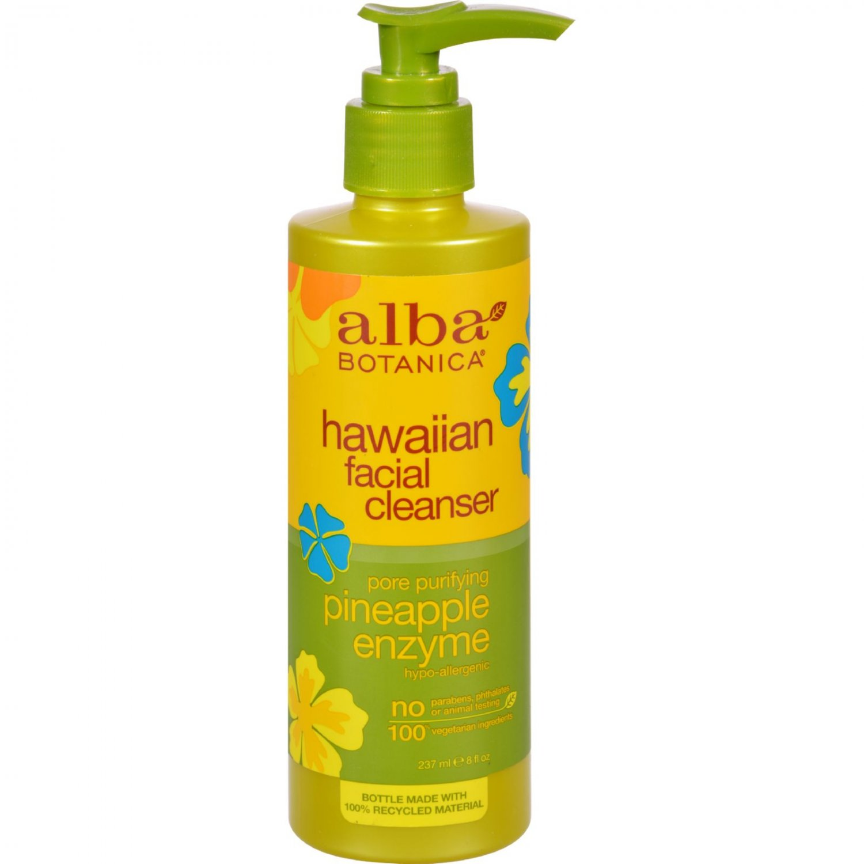 Alba Botanica Enzyme Facial Cleanser Pineapple - 8 fl oz