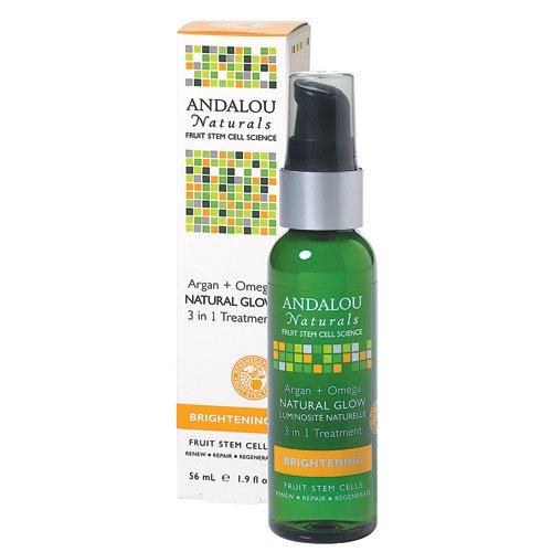 Andalou Naturals Argan and Omega Natural Glow 3 in 1 Treatment - 1.9 fl oz
