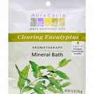 Aura Cacia Aromatherapy Mineral Bath Eucalyptus Harvest - 2.5 oz - Case of 6