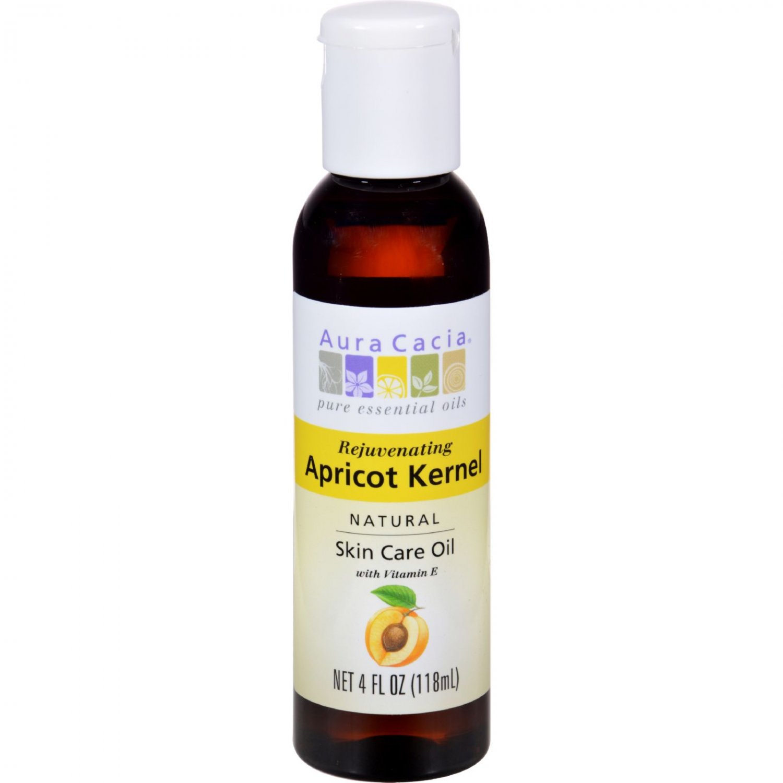 Aura Cacia Natural Skin Care Oil Apricot Kernel - 4 fl oz
