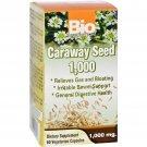 Bio Nutrition Caraway Seed 1 000 mg - 1000 mg - 60 Vegetarian Capsules