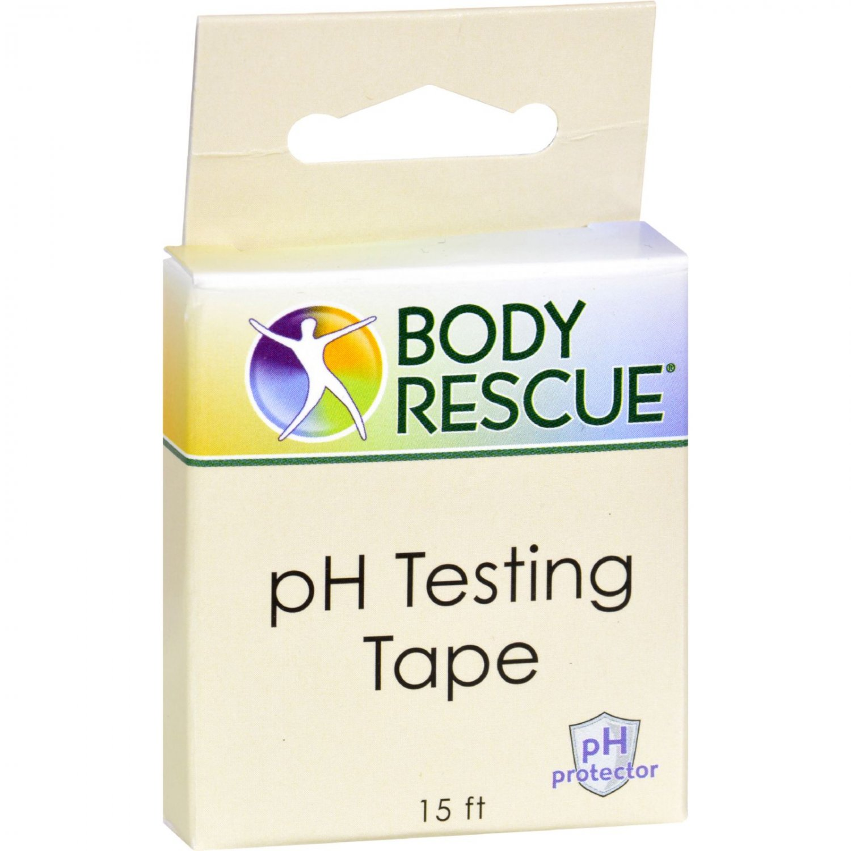 Body Rescue pH Testing Tape - 1 ct