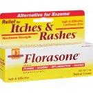 Boericke and Tafel Florasone Itches and Rashes Cream - 1 oz