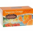 Celestial Seasonings Herbal Tea - Caffeine Free - Tangerine Orange Zinger - 20 Bags