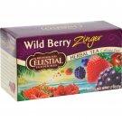 Celestial Seasonings Herb Tea Wild Berry Zinger - 20 Tea Bags - Case of 6