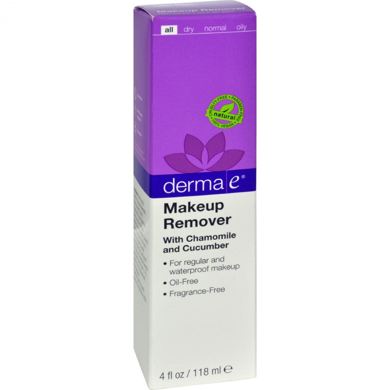 Derma E All-Natural Eyebright Makeup Remover Fragrance-Free - 4 fl oz