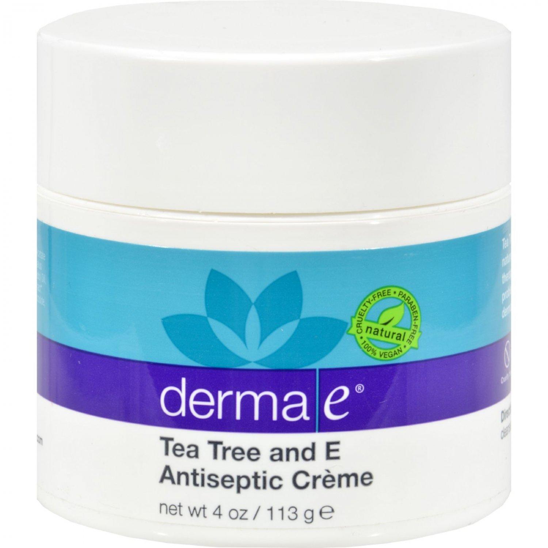 Derma E Tea Tree and E Antiseptic Creme - 4 oz