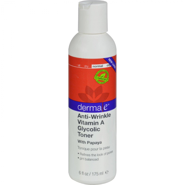 Derma E Vitamin A Glycolic Toner - 6 fl oz