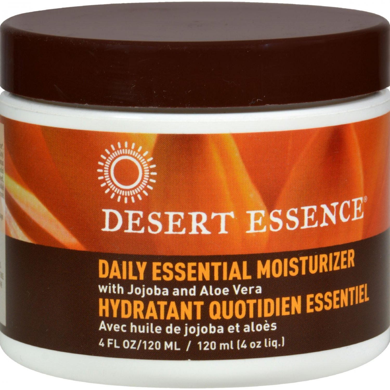 Desert Essence Facial Mositurizer - Daily Essential - 4 fl oz