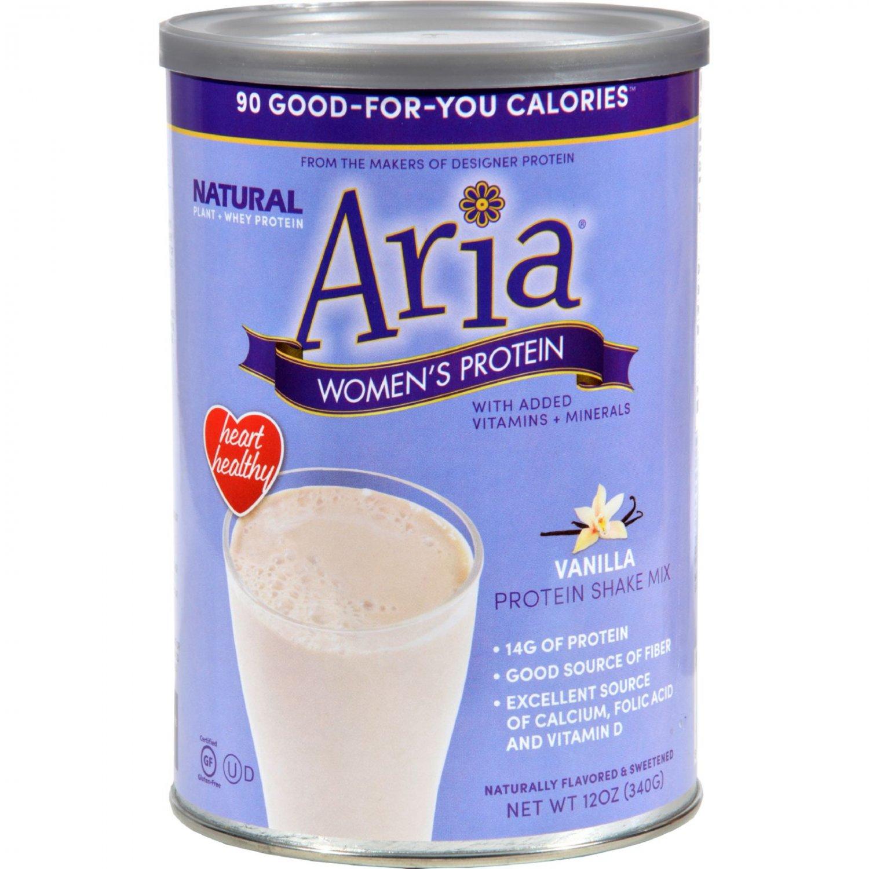 Designer Whey Aria Women's Protein Vanilla - 12 oz