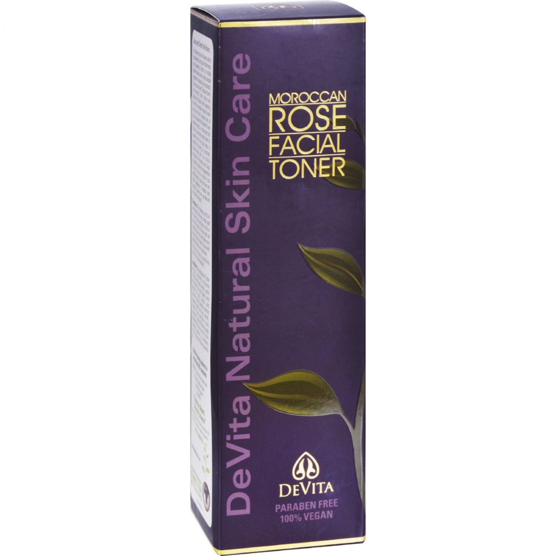 Devita Facial Toner Moroccan Rose - 5 oz