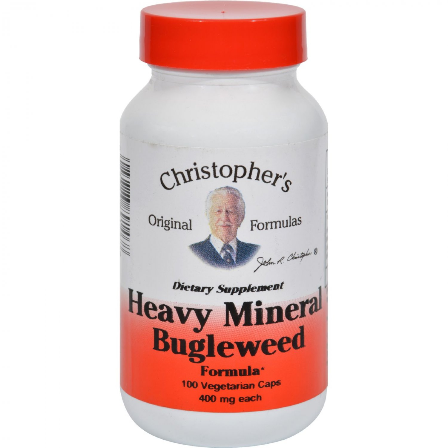 Dr. Christopher's Formulas Heavy Mineral Bugleweed Formula - 400 mg - 100 Caps